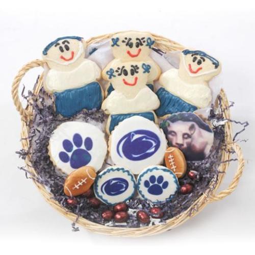 PSU Flat Cookie Basket-528