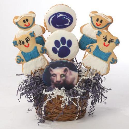 PSU Lion Cookie Basket-610