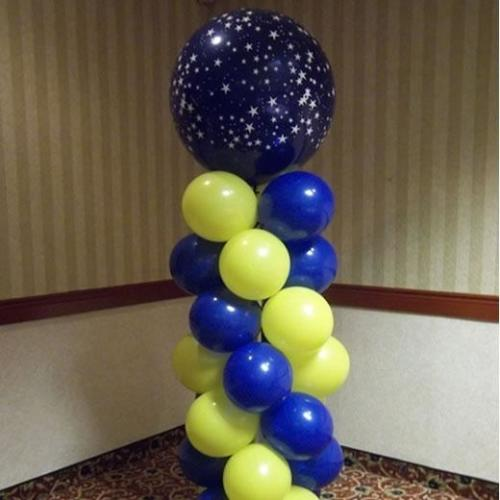 balloon tower blueyellow-330